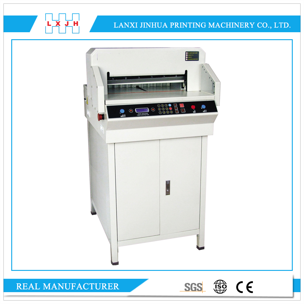 SM-QZ4605R Program Electric Paper Guillotine / Paper trimmer / guillotine paper cutter