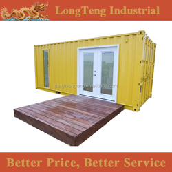 Customized 20 ' feet shipping container home