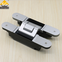 heavy duty 3d adjustable concealed door hinges for wood doors
