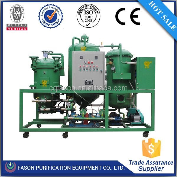 Pollution Free waste gear oil distillation