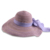 Advanced open brim natural grass hat star style for leisure time straw hat with polyster bowknot decoration