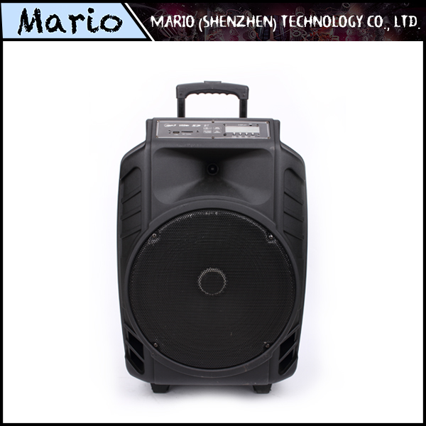 Chinese suppliers portable bass multimedia speaker with mic input