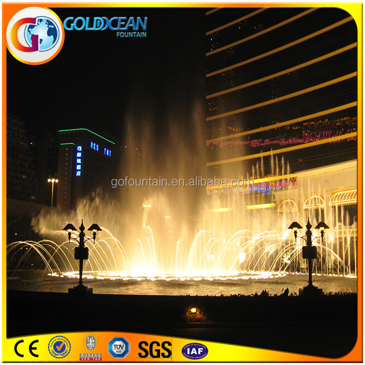 Gorgeous Outdoor Multicolor Musica Dancing Water Fountain For Sale