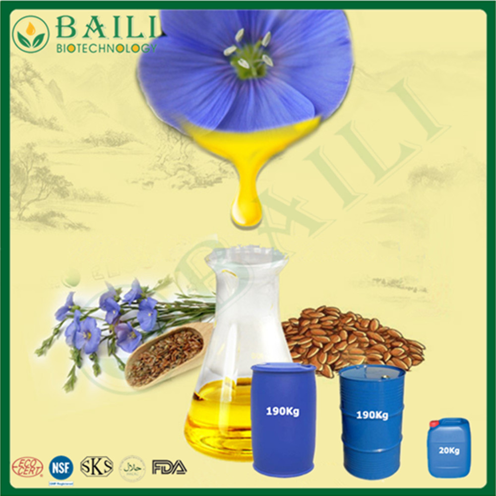 Refined linseed oil/flaxseed oil animal feeding nutritional