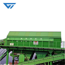China manufacturer vibrating drum sieve shaker