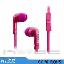 Wholesale Durable Wire Stereo Ear Pieces for Walkie Talkies,Earphone Flat Cable