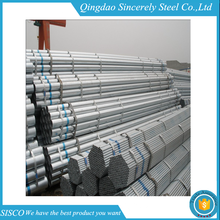 1.5MM Thickness Thin Wall Galvanized Steel Pipe for Lightweight Building Materials