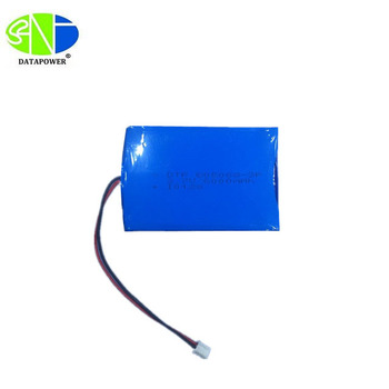DTP605068-3P 3.7v 6000mah lithium polymer battery pack with UN38.3/MSDS certificates