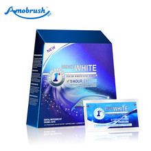 Totally white dry oral strips, tooth/ teeth whitening strips, whitestrips