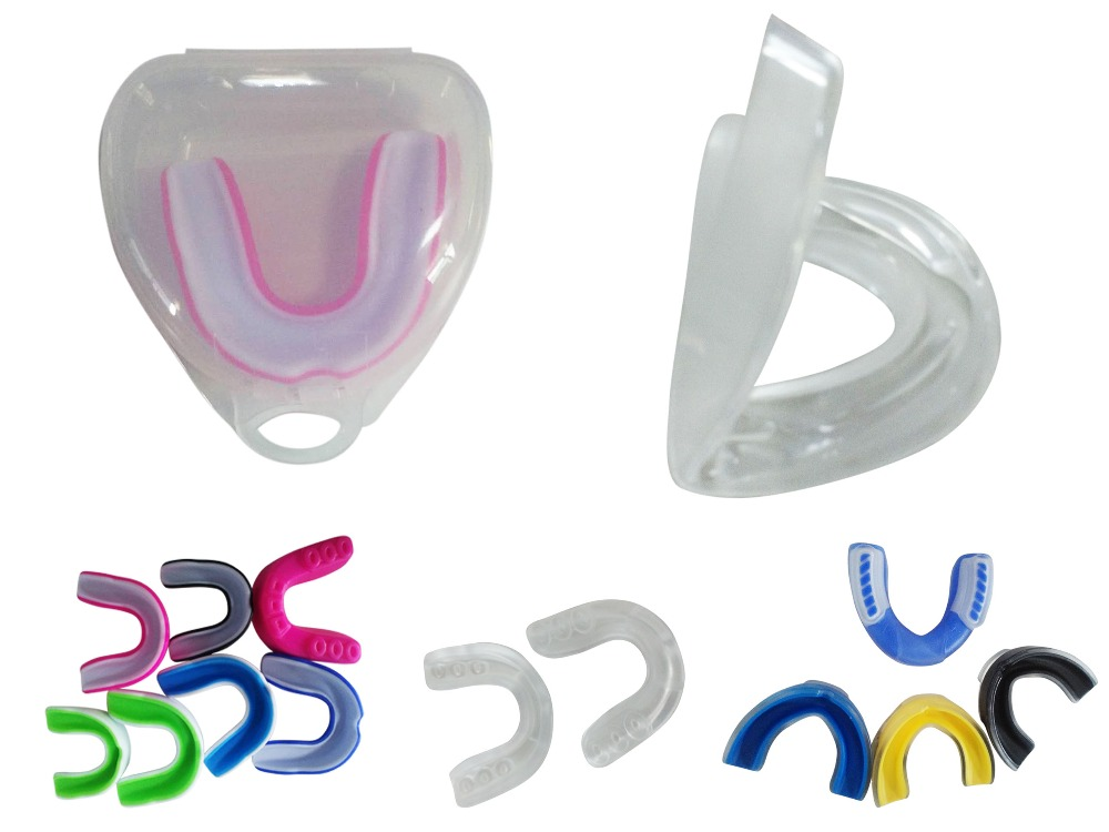 Double side mouth guard for boxing,Silica Gel POE Mouch Guard for Boxing