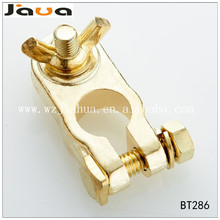 Electrical 12V 24V Gold Plated Brass Battery Terminal
