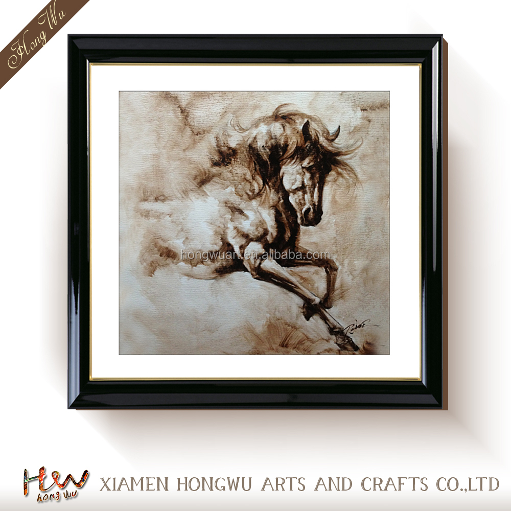 Modern Animal 8 Running Horses Canvas Art Oil Painting Prints for Wall Hanging