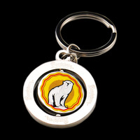 custom made keychains china,spinning turbo keychains with photo printing logo