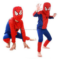 2016 New Arrival Halloween Spideman Costumes For Adult Role Play
