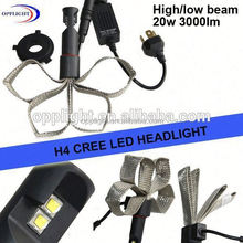 Toyota mark 2 headlight led replacement headlight bulbs H4 high low car led