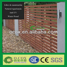 Eco-friendly Wood Plastic Composite WPC Fencing Material