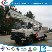 New design Truck Mounted Aerial Working Platform High Altitude Working Truck RHD