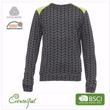 Wholesale sports pullover thermal cardigans man crew neck sweatshirts