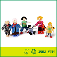 ASTM Safety Standard Puppet Doll Hand-made China Toys