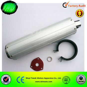 high quality pocket bike muffler