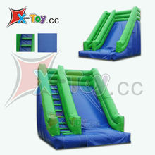 Original color inflatable product,mini inflatable slide geme for kids