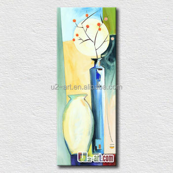 Simple glass painting designs of flowers