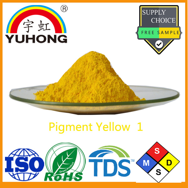 CAS No 2512-29-0 Hansa Yellow Color Pigment Yellow 1for Ink,Paint and Textile