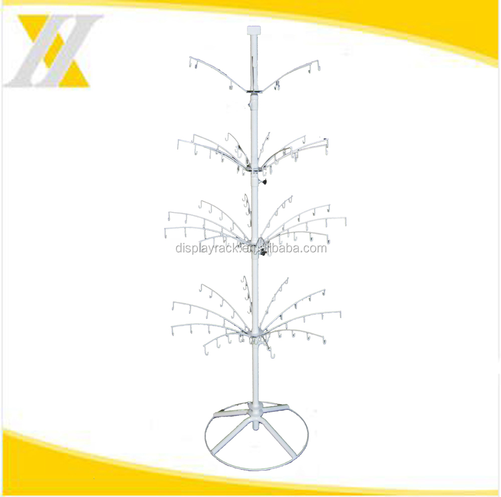 Multifunctional Well Design Metal Wire Hook Jewellery Display Rack, Stand for Gift/Toy/Ornament