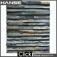 HS-MB003 natural thin veneer wall cladding stone panel