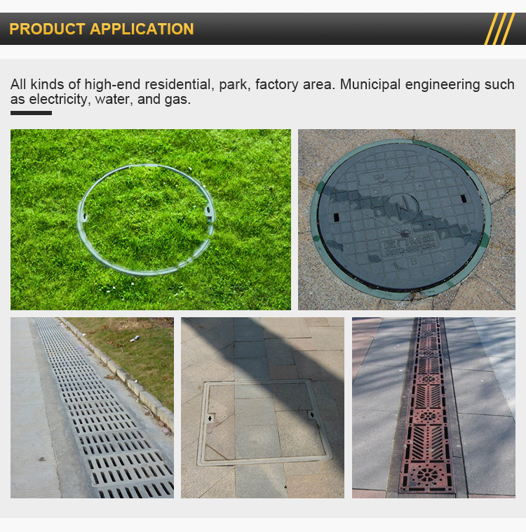 2019 New Products Cast Iron Manhole Cover Price For Sewer