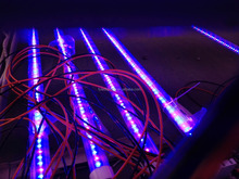 Hot! Red Blue Color 120PCS package 4ft 18W Plant LED Tube Grow Light(B:R=2:1)