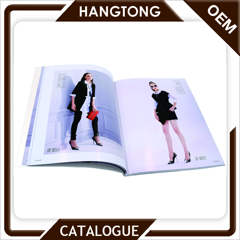 Beautiful colorful cheap catalog / brochure printing