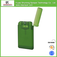 20ml plastic travel size spray bottle credit card sprayer