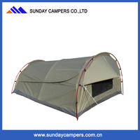 Weisshorn King Single Swag Camping Swags Canvas Tent