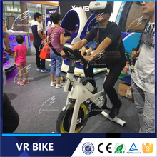2016 Funny Amusement Fashion Sport Games 9D VR Games Bike Racing Game VR Bike