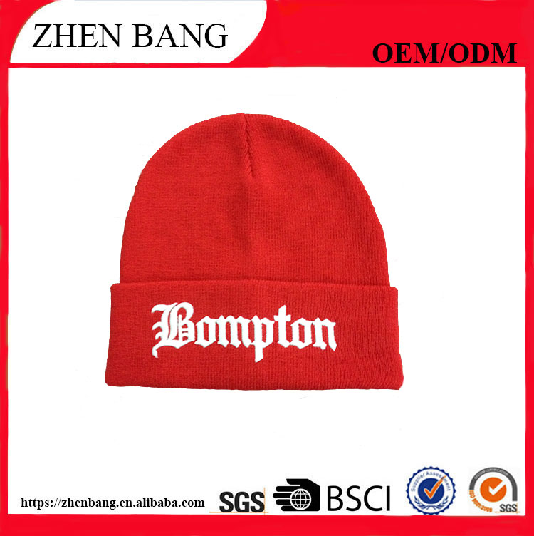 Best price and fashion custom fancy beanie winter hat