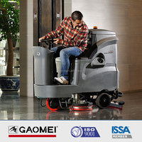 R110BT85 tow road scrubber, street scrubber/floor cleaning machine