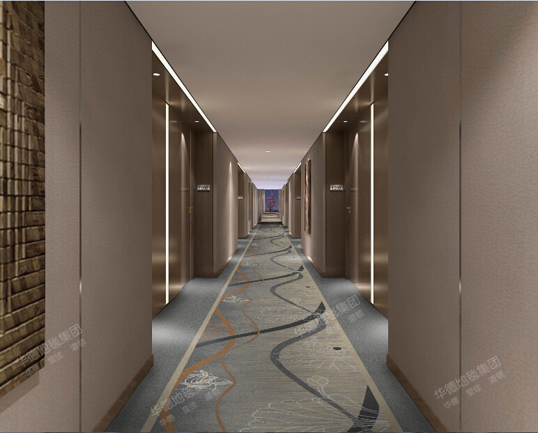 Machine Make Corridor/Hallway Carpet For Apartment ,Hotel