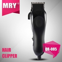 Classical Black color Professional AC Motor Hair Clipper/Salon safe Hair cutting trimmer razor with guides combs