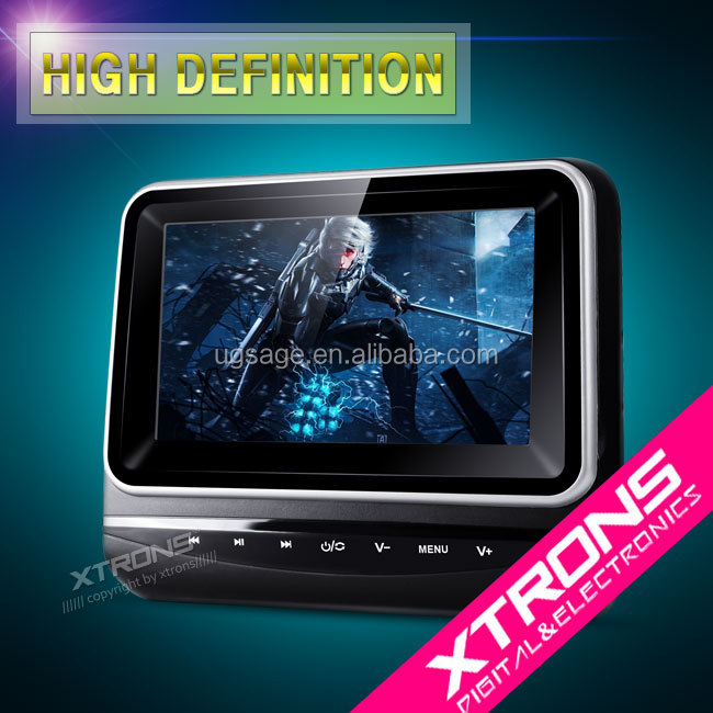 2016 hot selling Xtrons HD7MINI headrest 7 inch tft monitor for car