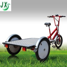 flatbed three wheel electric bike for cargo