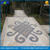 Outdoor Cheap Split Colorful Patio Paving Stone