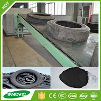 China INNOVIC Waste Tire Recycling Plant Replace Waste Collection Vehicle