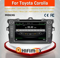 HIFIMAX Android car dvd gps for toyota corolla car dvd player for Toyota Corolla car video player with wifi mirror link DAB