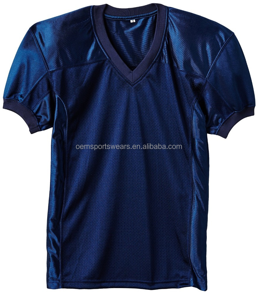 Hot sale sportswear design 100% polyester football jerseys