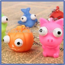 custom animals toys that eyes pop out;eyes pop out keychain;eyes pop out squeeze toys