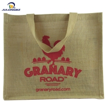 Eco-Friendly Personalised printed gunny Jute Wine Tote Bag