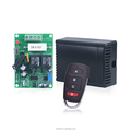 2 channel rf 433mhz dc 12v transmitter receiver with learning code YET402PC+084