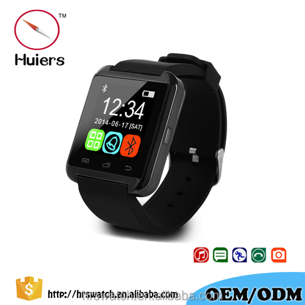Bluetooth4.0 Smart Watch Smartwatch U8 Handsfree Digital watch Bracelet Sport wristband for <strong>Android</strong> <strong>phone</strong>