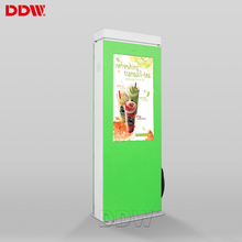 Professional Low Cost 55 inch Charging pile outdoor waterproof lcd display advertising panels kiosk